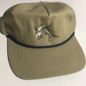 New Custom Embroidered Tarpon Fishing Hat